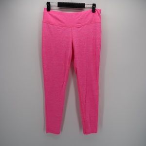 New Balance DRY Pink Athletic Cropped Leggings